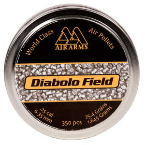 Air Arms Field Domed 25 cal 25-4gr