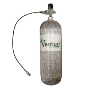 Air Venturi Carbon Fiber Tank, 4500 PSI, 74 Cu Ft