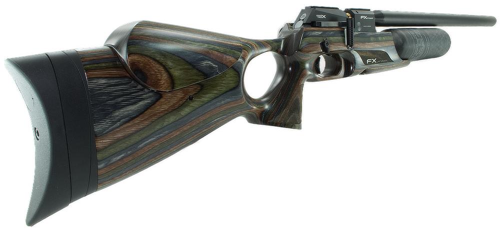 FX Airguns Crown Forest Green Lam  22   Trenier Outdoors