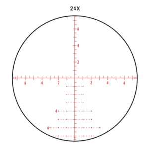 Athlon BTR APMR Mil Reticle 24x