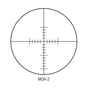 Sightron MOA-2 Reticle
