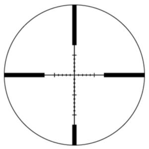 Sightron SIH 4-12x40 MOA Reticle